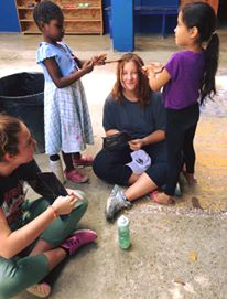Ms. Anderson in the Dominican Republic
